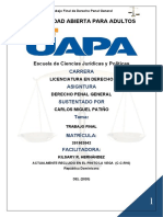 Trabajo Final Derecho Penal General