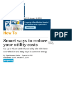 Smart ways to reduce your utility costs _ GulfNews