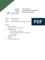 MINIT MESYUARAT KE-2