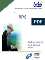 MIPv6 Diseño (en alemán)