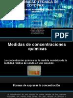 Medidas de concentraciones  químicas 2.pptx