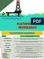 PLATAFORMAS PETROLERAS 2019