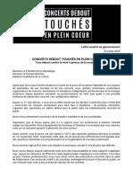 Lettre Ouverte Tous Debout Contre La Mise à Genoux de La Musique.docx 3