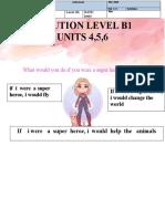 SOLUTION LEVEL B1 UNITS 4