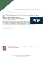 Tierras y Población en El Perú_Ferrero, A. Rómulo (Revisión Del Libro)
