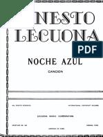 Noche azul - Ernesto Lecuona - Partituras(TEXTO).pdf