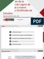 Ppt Constancia de Logros de Aprendizaje y Certificado de Studio. MADELEINE PERALES