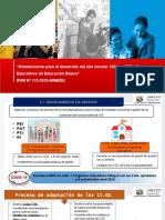 Ppt Instrumentos de Gestion y Comisiones RVM 133-2020- Modulo 1 YULIANA ESPINOZA