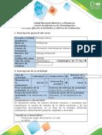 Guía de actividades y rúbrica de evaluación - Paso 2 - Analizar la unidad y diversidad de vida (1)