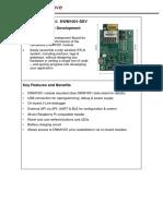 DWM1001 DEV Datasheet