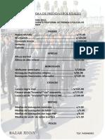 PROFORMA DE PRENDAS POLICIALES