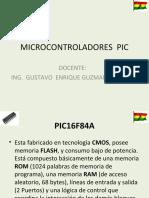 MICROCONTROLADORES  PIC 010311