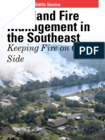 Wildland Fire Management in the Southeast