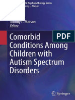 (Autism and Child Psychopathology Series) Johnny L. Matson - Comorbid Conditions Among Children with Autism Spectrum Disorders-Springer International Publishing (2016)