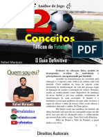 20 CONCEITOS TÁTICOS DO FUTEBOL - O GUIA DEFINITIVO