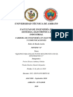 EQUIPOS PARA ENLACE PUNTO MULTIPUNTO CON EL ESTANDAR 802.11