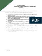 CUESTIONARIO MANUAL DE  POLÍTICA DE GARANTÍAS Y PROCEDIMIENTO INTERNO (1)