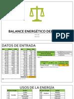BALANCE ENERGETICO CASA