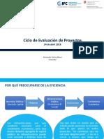1 - Ciclo Evaluación de Proyectos