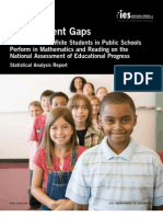 Data on the Achievement Gap