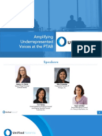 Unified Insights - Amplifying Underrepresented Voices at the PTAB