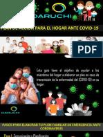 Plan de acción para el hogar ante el covid-19