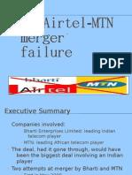Airtel-MTN Merger Failure