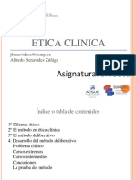 S 3  PPT ETICA CLINICA I 2020