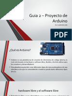 Guia 2 - Robotica - Uso de Arduino.pptx