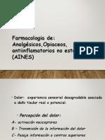 Laboratorio de Farmacologia Dolor Analgesicos Antipireticos y Aines