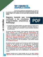 Valoración PP Someso. Archivo denuncia Tribunal de Cuentas. 14/01/2011