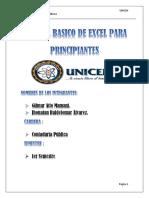 Manual Basico de Excel Para Principiantes - PDF