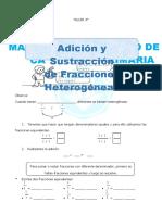 Adicion-y-Sustraccion-de-Fracciones-Heterogeneas-para-Cuarto-de-Primaria
