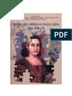 Vida urbana y familia en América Latina