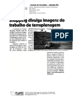 Unique Shopping Marabá divulga imagens da Terraplenagem