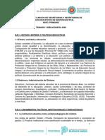 SECRETARIOS - PRIMARIA - 2020