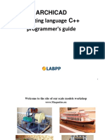 ARCHICAD CPP Script Guide INT