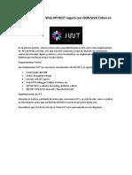 Construyendo una Web API REST segura con JSON Web Token en .NET (Parte II)