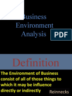 LCM-MBA Business Environment Analysis