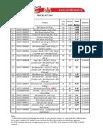 pricelist 2020 - including EAN-Rev1