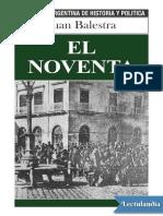 El Noventa - Juan Balestra