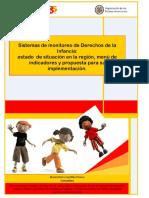 Sistemas de monitoreo de Derechos de la Infancia-OEA