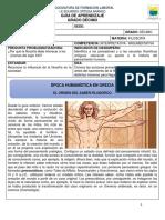 FILOSOFÍA DÉCIMO - GUÍA 1 - PERIODO 3 - 10 JULIO 2020