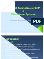 Technical Architecture of ERP