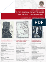 Seminario tenuto presso l'Università di Padova, con la partecipazione di Variazioni Srl