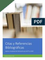 UADE - Citas y Referencias Bibliográficas