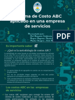 COSTOS II ABC SERVICIOS