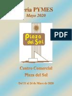 Información General Feria Pymes Plaza del Sol 2020