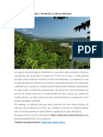 FLORA Y FAUNA DE LA SELVA PERUANA