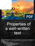 propertiesofawell-writtentext